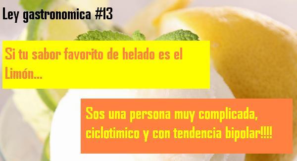 ley gastronomica 13